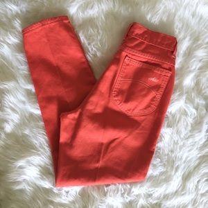 Vintage Chic orange Jeans